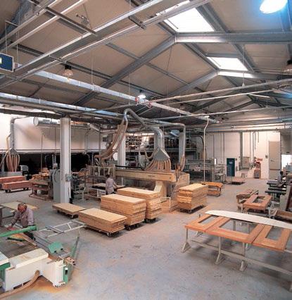 Produzione Porte tagliafuoco in legno