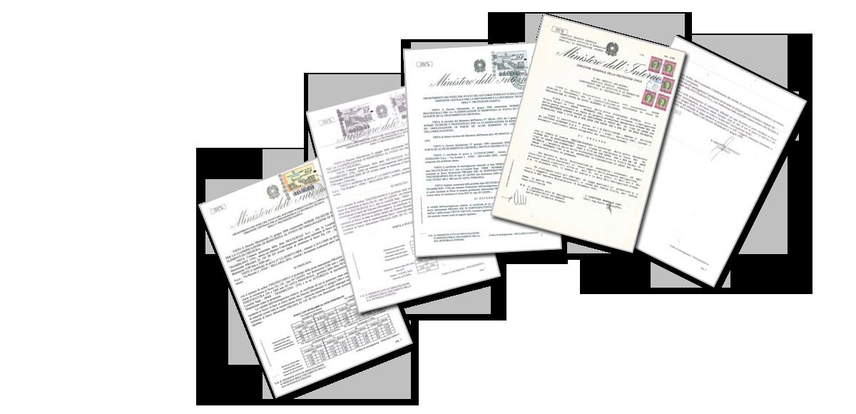 certificazioni porte antincendio