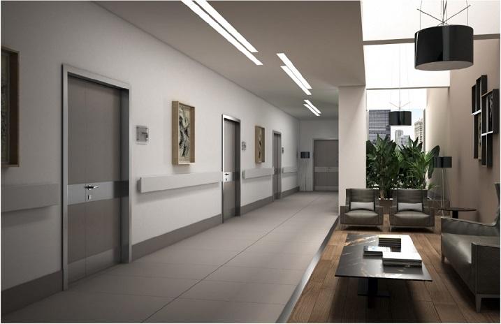 Acoustic doors new Certification
